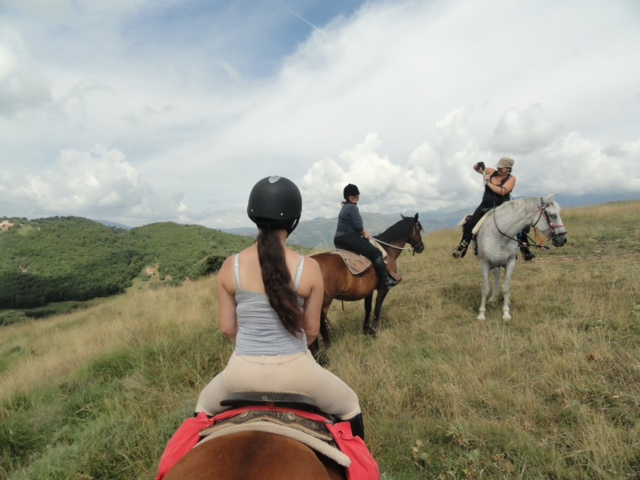 Randone au cheval